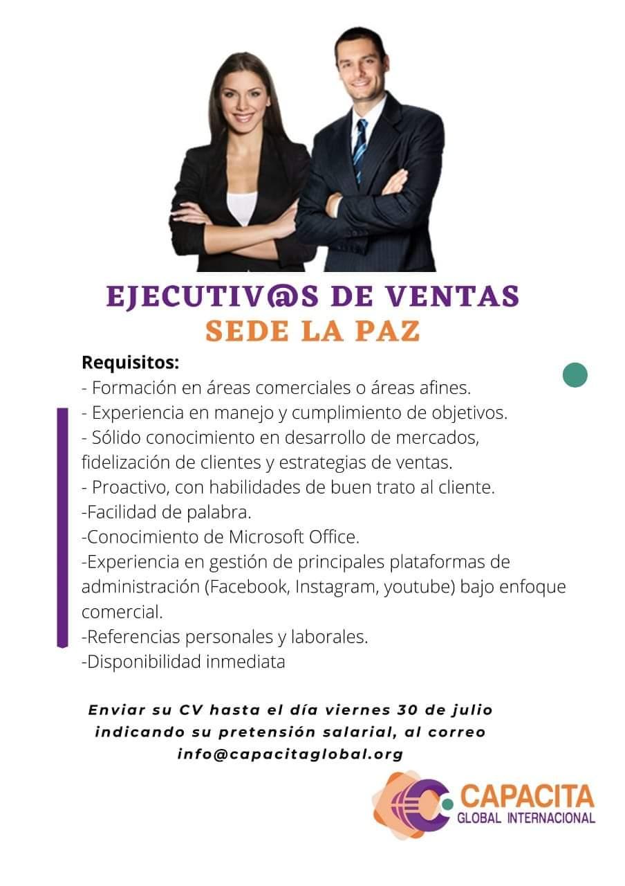 EJECUTIVO DE VENTAS