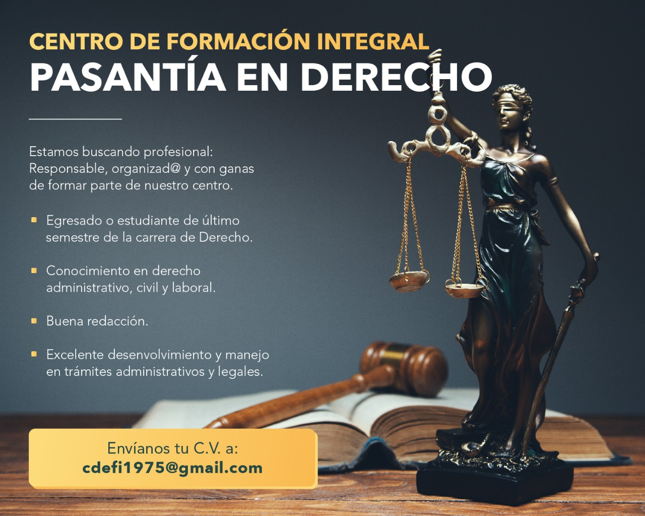 Pasantes en Derecho